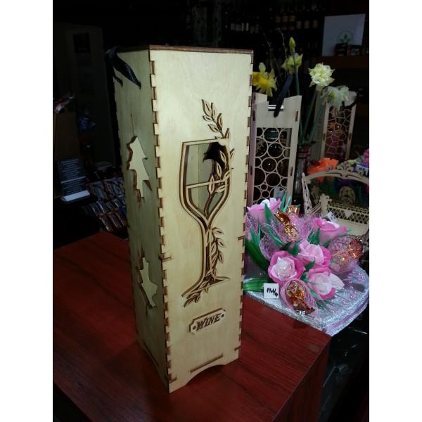 Кутия за вино - единична